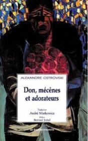 Don, Mecenes Et Adorateurs - Couverture - Format classique