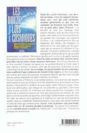 Les douze lois cosmiques - 4ème de couverture - Format classique