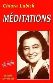 Meditations - Couverture - Format classique