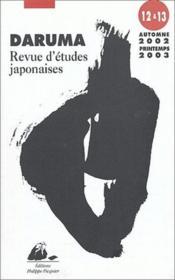 Daruma N12/13 - Couverture - Format classique