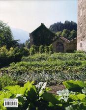 Utilité et plaisir ; parcs et jardins historiques de suisse - 4ème de couverture - Format classique