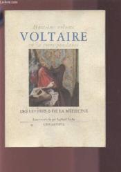 Voltaire En Sa Corr.8 Des Lettres Et De La Medecine - Couverture - Format classique