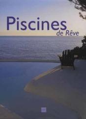 Des Piscines De Reve - Couverture - Format classique