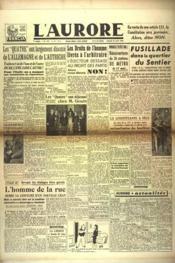 Aurore (L') N°527 du 27/04/1946 - Couverture - Format classique
