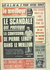 Meilleur Journal (Le) N°102 du 29/07/1972 - Couverture - Format classique