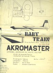 Akromaster - Couverture - Format classique