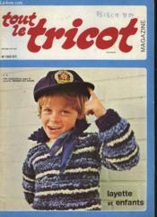 Tout Le Tricot - Magazine - N°120 - Layette Et Enfants - Couverture - Format classique