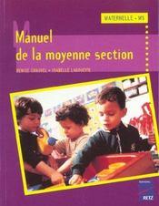 Manuel De La Moyenne Section - Intérieur - Format classique