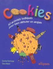 Cookies 50 Activites Ludiques Pour Bien Debuter En Anglais - Intérieur - Format classique