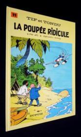 Tif et Tondu t.11 ; la poupée ridicule - Couverture - Format classique