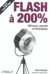 Flash A 200% - Intérieur - Format classique