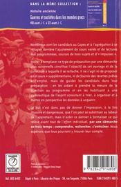 Democraties occidentales 1918-1989 - 4ème de couverture - Format classique