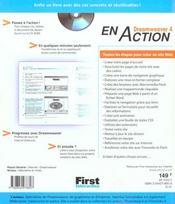 Dreamweaver 4 En Action - 4ème de couverture - Format classique