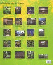 Fleurs Et Jardins Du Monde - 4ème de couverture - Format classique