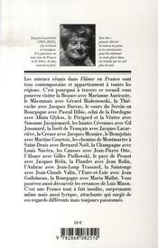 Flâner en france - 4ème de couverture - Format classique