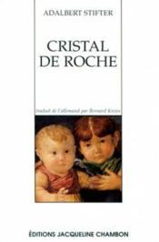 Pierres Multicolores 1 - Cristal De Roche - Couverture - Format classique