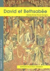 David Et Bethsabee - Couverture - Format classique