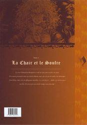 Mortepierre t.1 ; la chair et le soufre - 4ème de couverture - Format classique