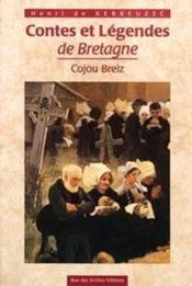 Contes et légendes de Vretagne - Couverture - Format classique
