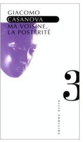 Ma Voisine La Posterite - Couverture - Format classique