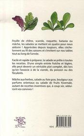 Salades, je vous aime... - 4ème de couverture - Format classique