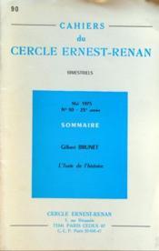 Cahiers Du Cercle Ernest Renan N°90 du 01/05/1975 - Couverture - Format classique