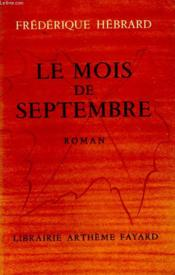 Le Mois De Septembre. - Couverture - Format classique