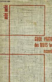 Guide Pratique De Smots Latins Essentiels - Couverture - Format classique