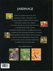 Atlas pratique du jardinage. Le savoir faire, les arbres et les arbustes, le potager, les haies - 4ème de couverture - Format classique