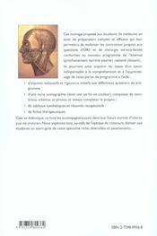 Orl Et Chirurgie Cervico-Faciale Nouveau Programme - 4ème de couverture - Format classique