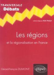 Les régions et la régionalisation en france - Intérieur - Format classique