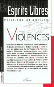 Esprits Libres ; Politique Et Culture ; Violences ; La Figure De L'Esprit Libre - Intérieur - Format classique