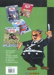 L'Agent 212 Pirate T.11; Sifflez Dans Le Ballon - 4ème de couverture - Format classique
