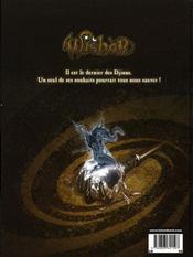 Wisher t.1 ; nigel - 4ème de couverture - Format classique