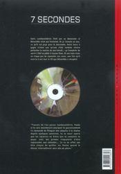 7 secondes t.3 ; lambaratidinis - 4ème de couverture - Format classique