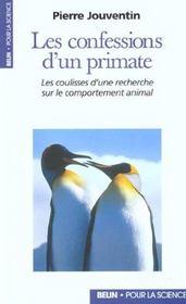 Les Confessions D'Un Primate. - Intérieur - Format classique