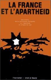 La France et l'apartheid - Couverture - Format classique