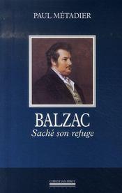 Balzac ; saché son refuge - Intérieur - Format classique