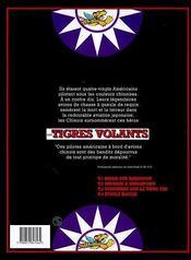 Les tigres volants t.4 ; etoile rouge - 4ème de couverture - Format classique