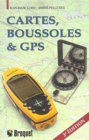 Cartes Boussoles Et Gps 3 Edt - Intérieur - Format classique