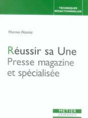 Reussir Sa Une, Presse Magazine Et Specialisee - Couverture - Format classique