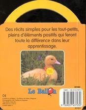 Un Amour De Petit Canard - 4ème de couverture - Format classique