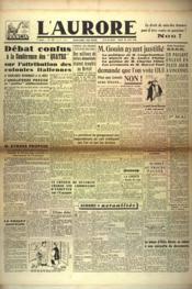 Aurore (L') N°529 du 30/04/1946 - Couverture - Format classique