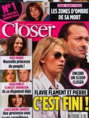 Closer N°307 du 30/04/2011 - Couverture - Format classique