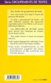 L'écriture autobiographique, de Touzin - 4ème de couverture - Format classique