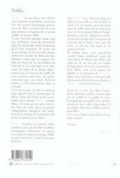 Meduse - 4ème de couverture - Format classique