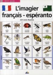 L'imagier français/esperanto - Couverture - Format classique