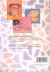 La mosaïque coquille d'oeufs - 4ème de couverture - Format classique