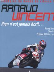 Arnaud Vinken ; Rien N' Est Jamais Ecrit - Couverture - Format classique