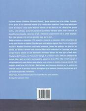 Arnaud Vincent - 4ème de couverture - Format classique